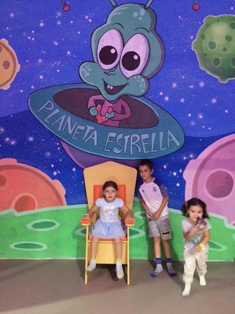 Parque de juegos infantiles en Fuenlabrada