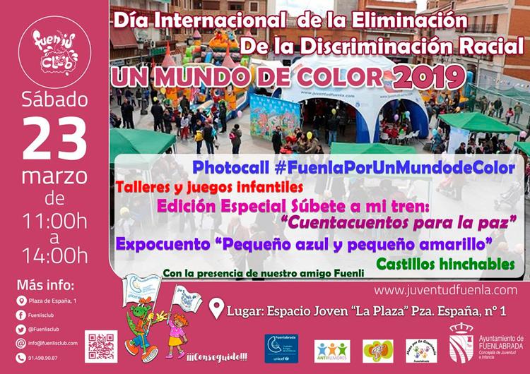 """Día internacional de la eliminación de la descriminación racial """"Un mundo de color"""""""