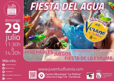 Fiesta del Agua para niños en Fuenlabrada