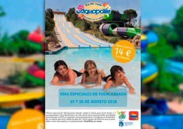 Actividades de verano en Fuenlabrada: descuentos especiales en Aquopolis Villanueva de la Cañada