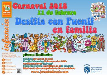 Carnaval para niños con Fuenli en Familia