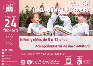 Deporte en familia en Fuenlabrada: Taller familiar de capoeira