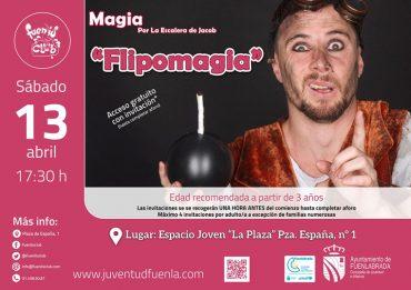 «Flipomagia»: Espectáculo familiar mágicamente divertido en Fuenlabrada